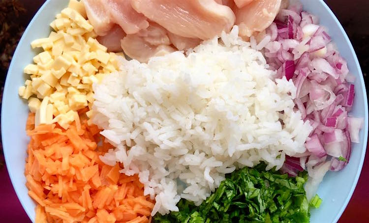 Resepi Nasi Ayam Untuk Kanak - CRV Tu